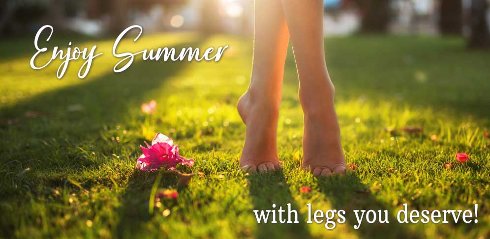 Enjoy summer with the legs you deserve. Visit with the vein experts at Minnesota Vein Center today!