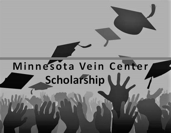 Minnesota Vein Center Scholarship Minneapolis grads throwing caps in air